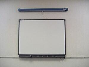 Smartboard in a classroom