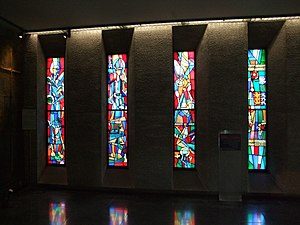 Stained Glass Windows - Coventry Cathedral.