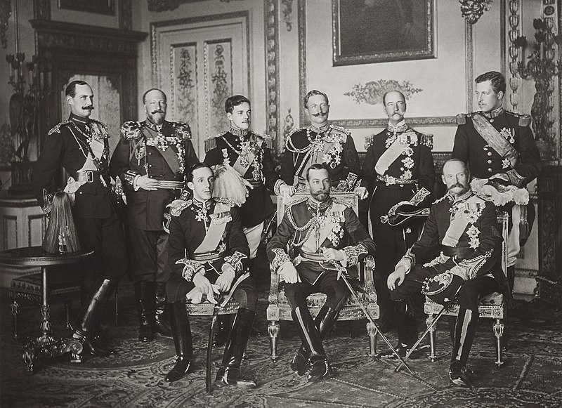 File:The Nine Sovereigns at Windsor for the funeral of King Edward VII.jpg