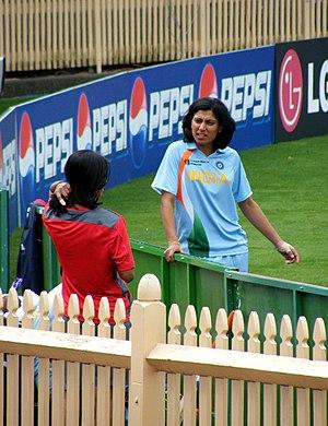 Anjum Chopra of India - ICC Women's Cricket Wo...