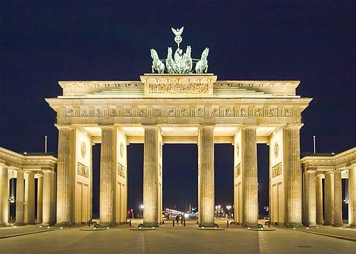 Berlin Brandenburger Tor Nacht