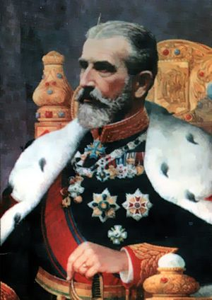 Carol I of Romania as king