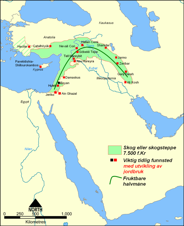 Map Ancient Middle East 600 Empire