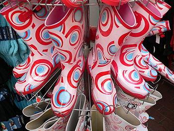 Colourful PVC Wellingtons