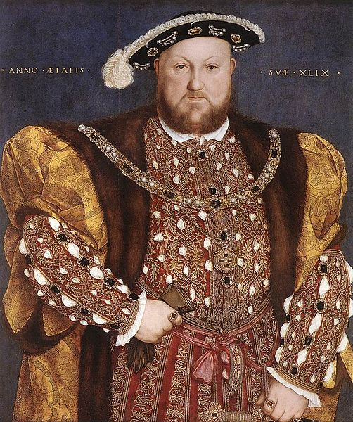 Henry VIII portrait by Holbein