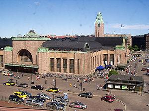 Helsinki Central railway station, Helsinki, Fi...
