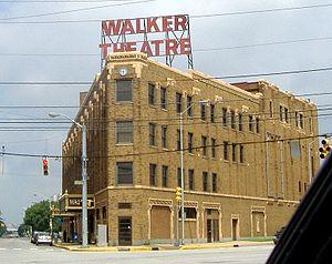 English: Madame Walker Theatre Center, a Natio...
