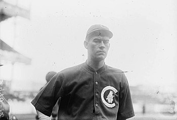 English: Pitcher Jimmy Lavender of the Chicago...