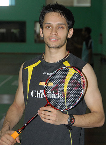 English: kashyap is a indian badminton player