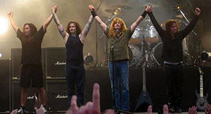 Megadeth at Sauna Open Air Metal Festival in T...