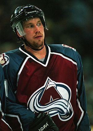 Peter Forsberg Colorado Avalanche October 1997