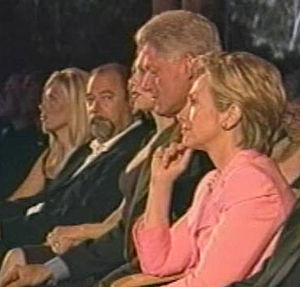 Peter Paul with the Clintons at Gala Fundraise...