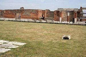 Edificio de Eumaquía en Pompeya