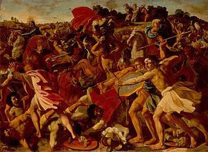 The Victory of Joshua over the Amalekites