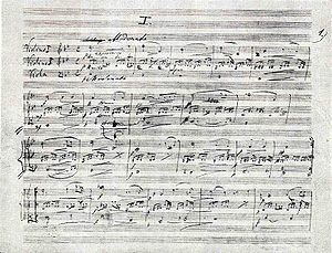 The title page of the Miniatures for Two Violi...