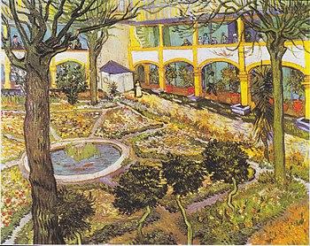 Garden of the Hospital in Arles