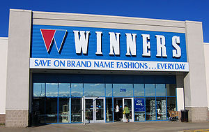 Winners store in Halifax, Nova Scotia