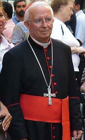 English: Antonio Cardinal Cañizares Llovera af...