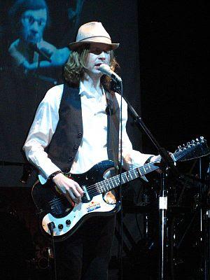Beck performing at Yahoo! Hack Day (09/29/2006)