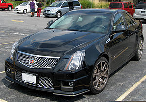 2009 Cadillac CTS-V photographed in Frederick,...