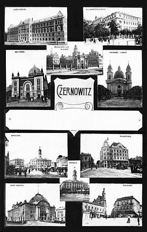 English: Czernowitz, Austria-Hungary, multiple...