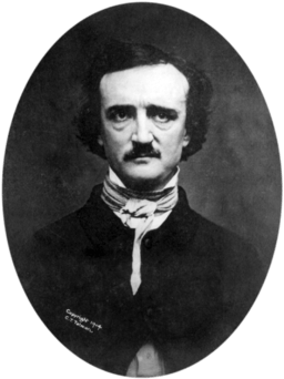 Edgar Allan Poe from Wiki Commons