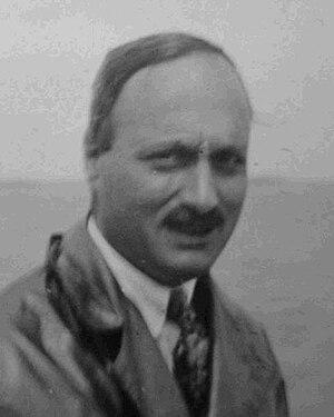 English: Physicist James Franck (1928) Deutsch...