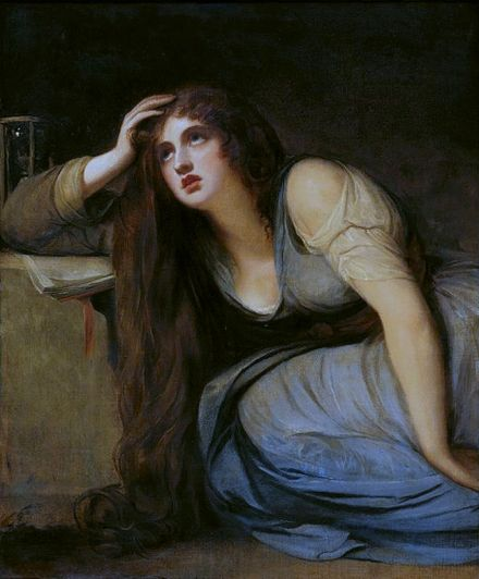 Lady Hamilton as The Magdalene, George Romney