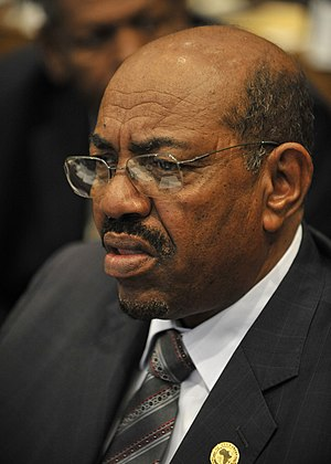 Omar Hassan Ahmad al-Bashir, president of Suda...