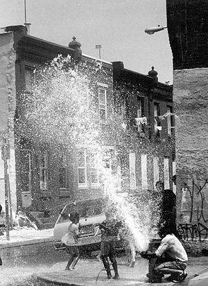 Fire hydrant in Philadelphia