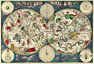 {{la}}Planisphæri cœleste {{en}}Celestial map ...