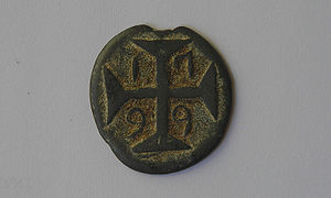 20 Bazarucos Portuguese Indian lead or tin coi...