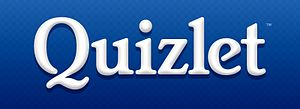 English: logo of quizlet