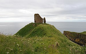 Remains of Forse Castle