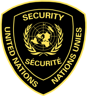 English: Logo used by United Nations Guard Con...