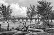 English: View from Mill Bank, London: Vauxhall...
