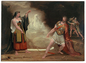 Saul and the Witch of Endor. By Allston, Washi...