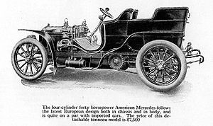 1905 American Mercedes In a year when the aver...