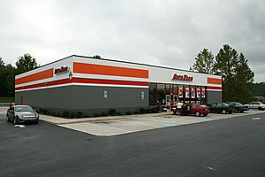AutoZone, an automotive parts shop, at 364 Sou...