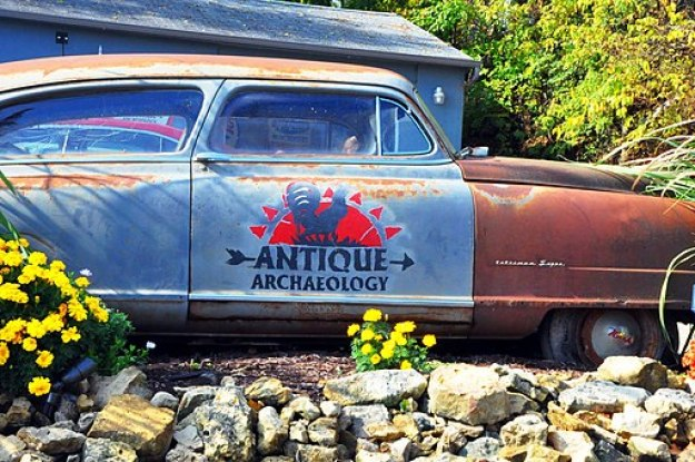 American Pickers Antique Car