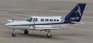 Cape Air Cessna 402 at SRQ