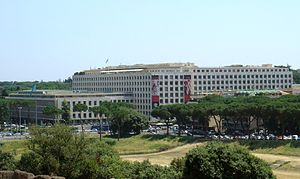 English: FAO's headquarters in Rome, in Via de...