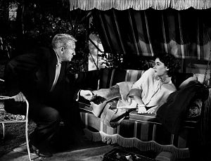 English: Spencer Tracy & Elizabeth Taylor in F...