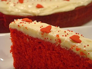 Rose Red Velvet Cake from Rose's Heavenly Cakes