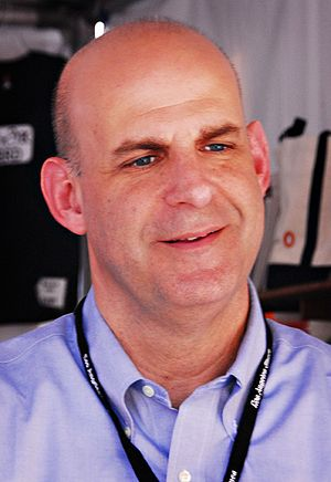 Harlan Coben at the Los Angeles Times Festival...