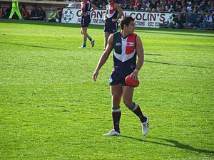 Matthew Pavlich after a mark.