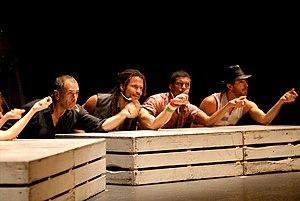 Bejuntos - the Mayumana Dance Company and Davi...
