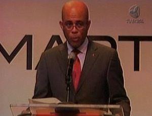 Português: Michel Martelly, presidente eleito ...