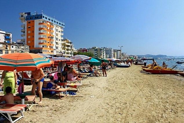 Plaża w Durrës 4