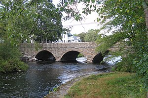 Pleasant Street bridge, South Natick Massachus...